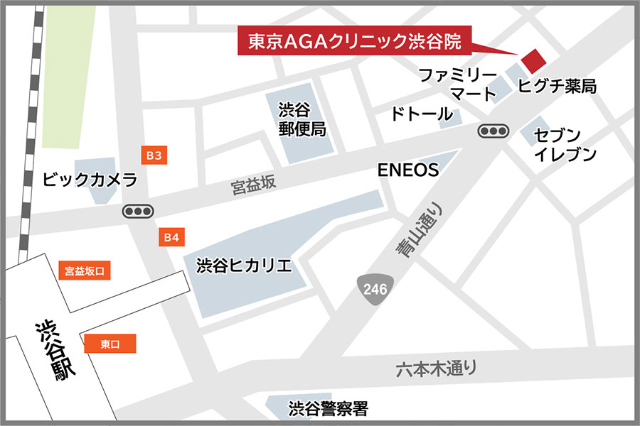 渋谷院アクセス